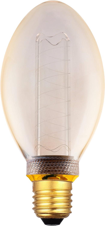 bianco extra caldo 320/° 230V AC vetro nessun sfarfallio non dimmerabile 4x greenandco/® lampadina a LED di design vintage in stile retr/ò per lilluminazione datmosfera E14 candela 2W 65lm 1800K