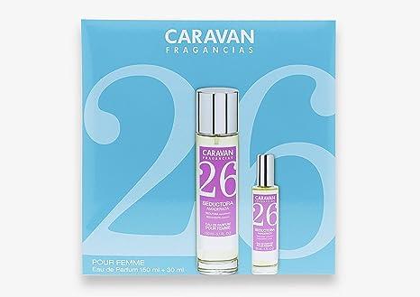 Caravan Fragancias Nº 26 Estuche de Regalo para Mujer Eau de Parfum Fragancia Floral y Amaderada