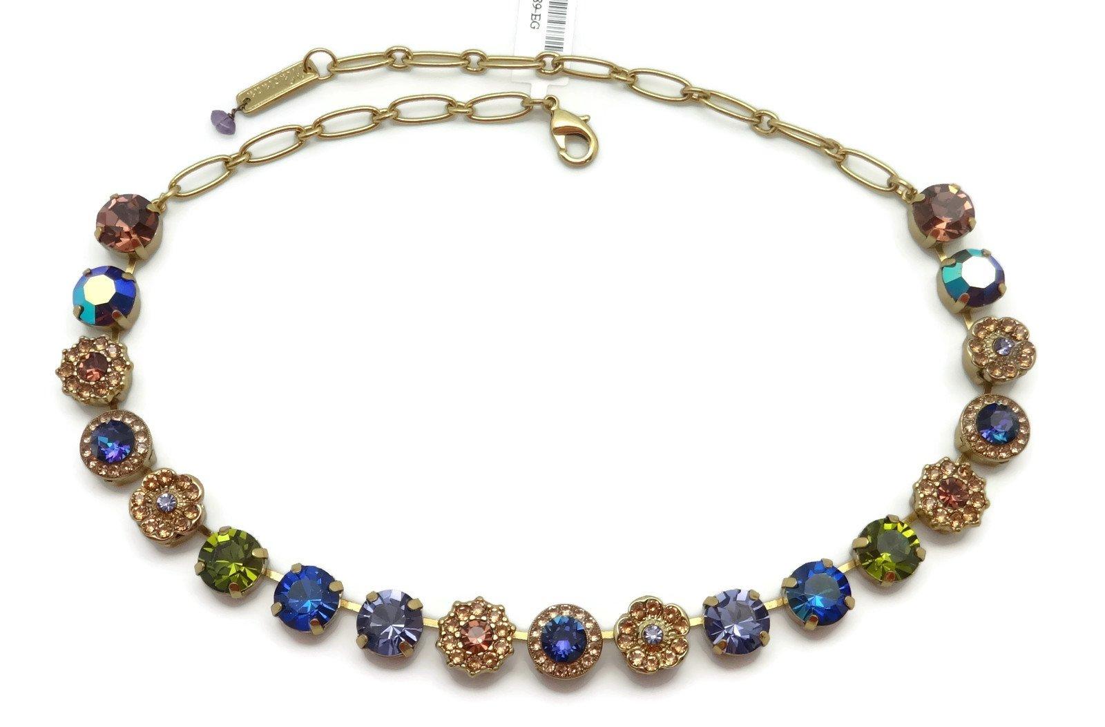 Mariana English Gold Plated Swarovski Crystal Necklace Multi Color Mosaic 1089 Odyssey Penelope by Mariana (Image #2)
