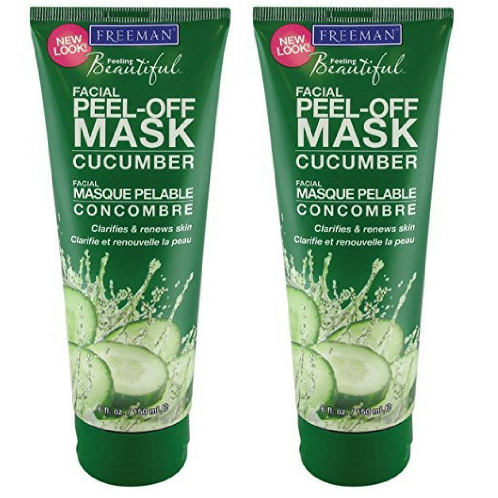 Freeman Cucumber Facial Peel-Off Mask - 6 oz (Pack of 2) … (Pack of 2)