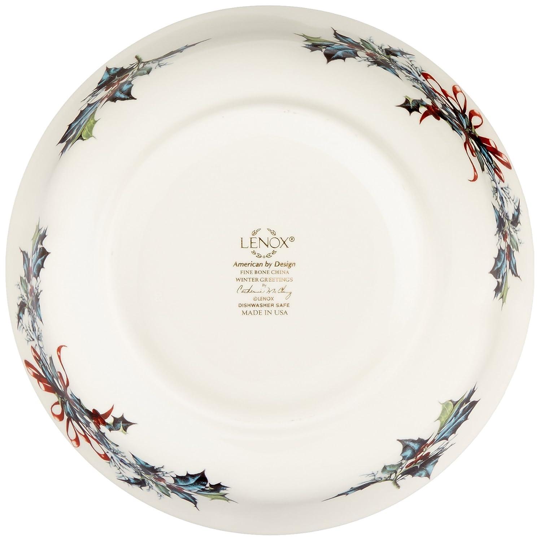 Amazon lenox winter greetings all purpose bowl kitchen dining kristyandbryce Choice Image