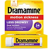 Dramamine All Day Less Drowsy Motion Sickness Relief, 8 Tablets