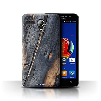 sports shoes 96400 0351e Stuff4 Phone Case/Cover for Lenovo A606 / Burnt Wood Design/Tree ...