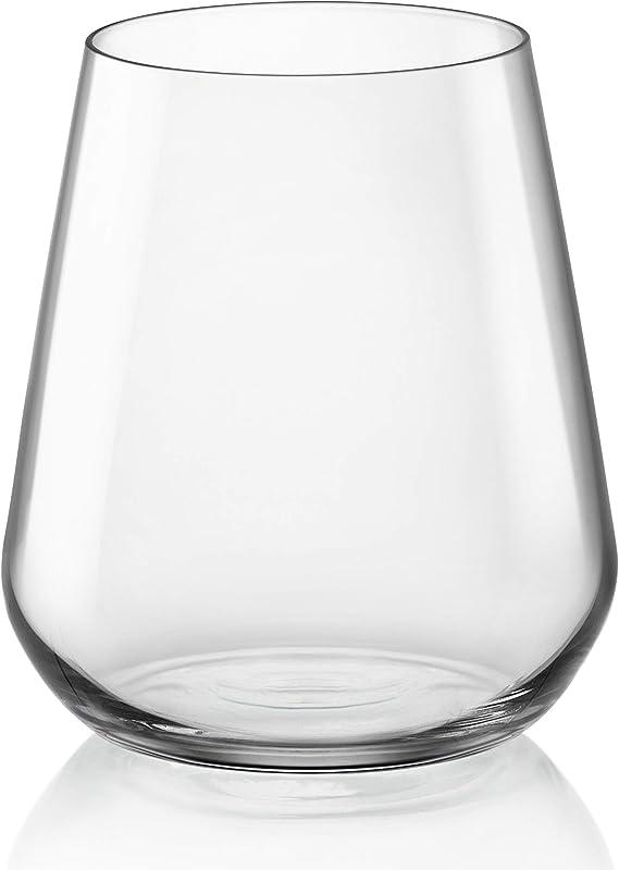 Bormioli Rocco 365750GRC021990 InAlto Uno Stemless Glass