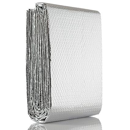 SuperFOIL RadPack lámina térmica (5 m x 60 cm), para ahorro de energía en
