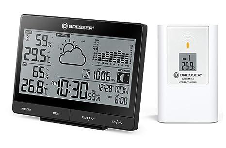Bresser 7006405 - Estación meteorológica inalámbrica, Color ...