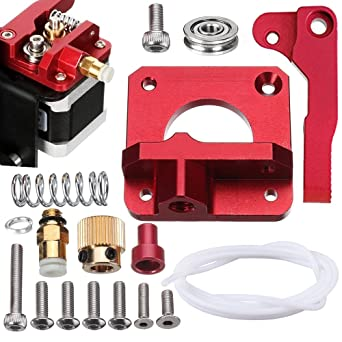 SIQUK Upgraded MK8 Extrusora Aluminum Drive Feed Replacement ...