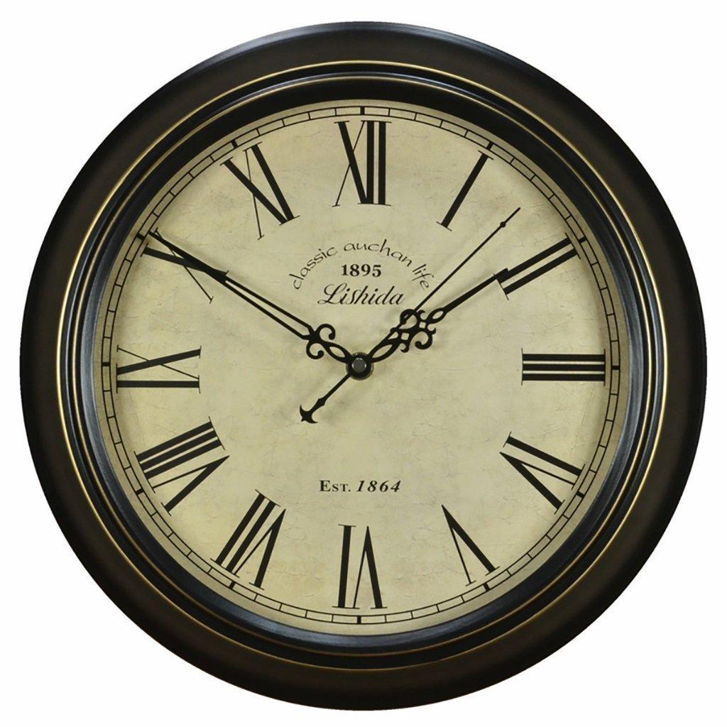 IAIZI ヨーロッパの時計のスタイル古代と静かなリビングルームアメリカの国のノスタルジックなノルディック時計。 (サイズ さいず : 12 inches/30.5cm) B07D65XP3D 12 inches/30.5cm 12 inches/30.5cm