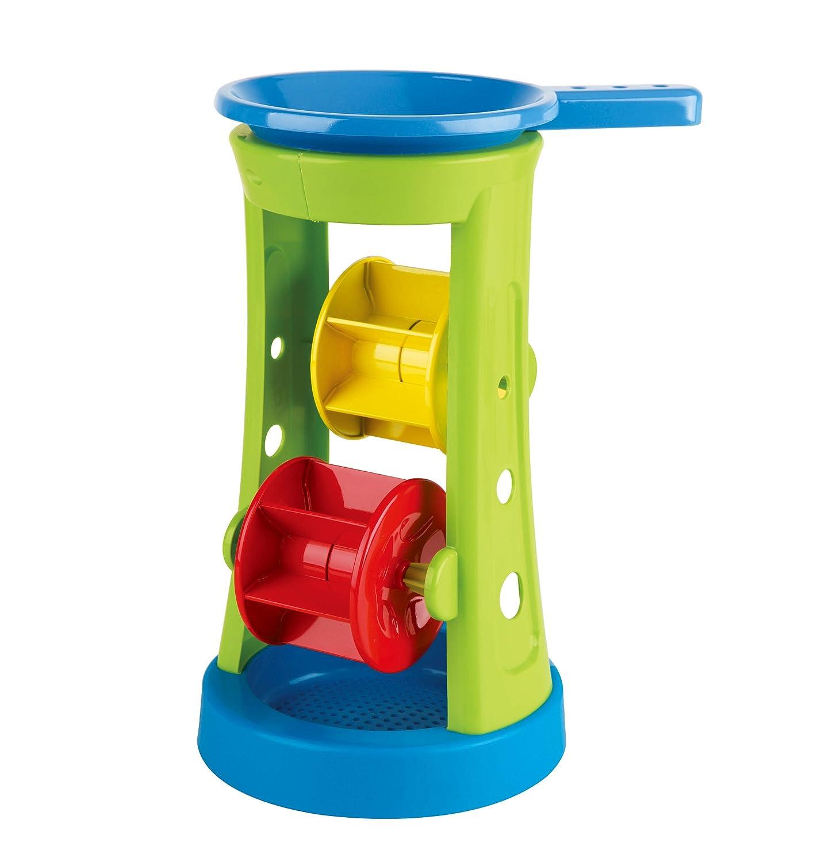 Hape Double Sand and Water Wheel Kid's Beach Toy E4046