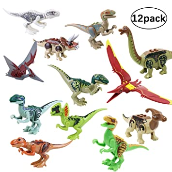 "3.2/"" Mini Dinosaur Assortment Set of 12 Dinosaur Figures Toy for Kids"