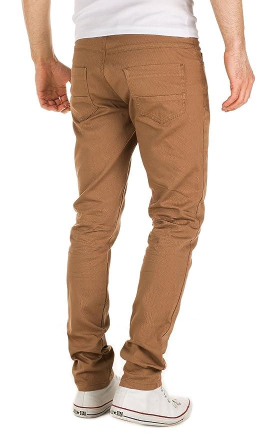 Yazubi Men's Houndstooth Chino Pants Edoardo Skinny Fit: Amazon.co.uk:  Clothing