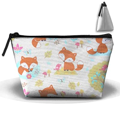 Cartoon Animal Personality Portable Women Trapezoid Travel Bag Cosmetic Bag Receive Bag