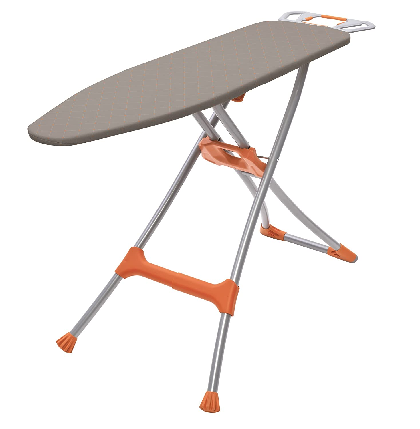 Homz Durabilt DX1500 Premium Steel Top Ironing Board with Wide Leg Stability, Adjustable up to 39.5 Adjustable up to 39.5 4750150