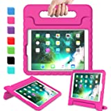 AVAWO Kids Case for iPad 9.7 2017/2018 & iPad Air 2 - Light Weight Shock Proof Convertible Handle Stand Friendly Kids Case fo