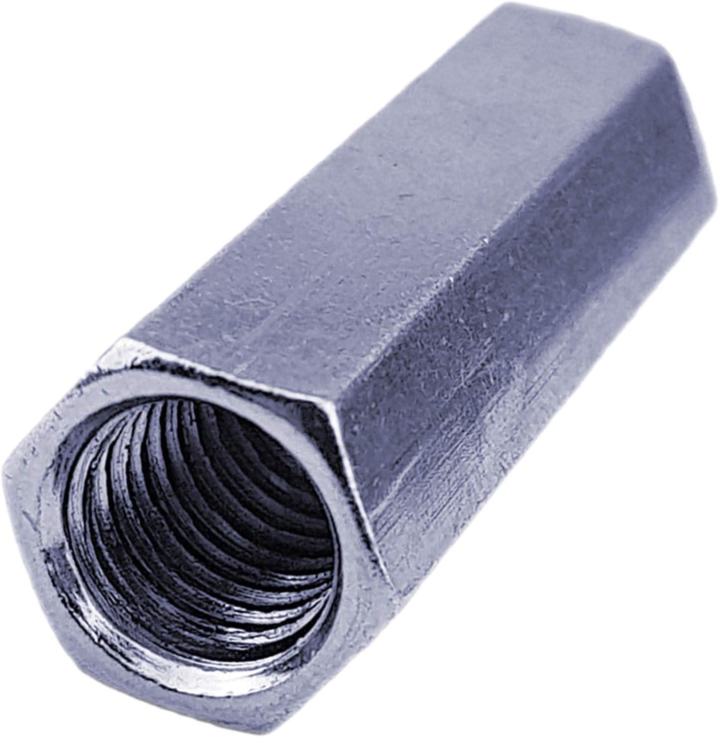 | Sechskant Gr/ö/ße M14 x L/änge 42mm verzinkt 5 St/ück QUALIT/ÄTS VERBINDUNGSMUTTER Stahl