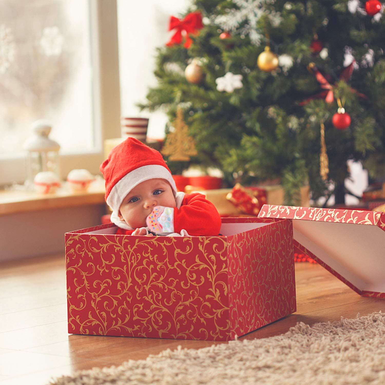 2 Stück Baby Zahnen Handshuhe Besfair BPA Frei Teething Mitten für