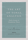 The Art of Tonal Analysis: Twelve Lessons in Schenkerian Theory (Oxford Handbooks)