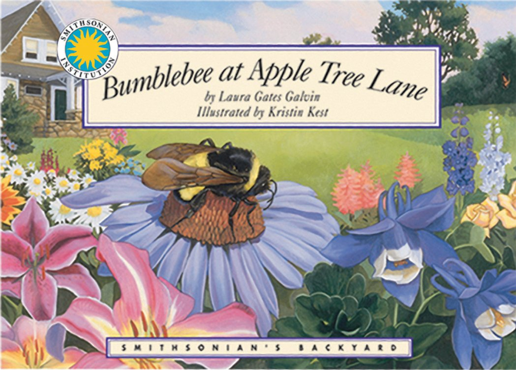 bumblebee at apple tree lane a smithsonian u0027s backyard book