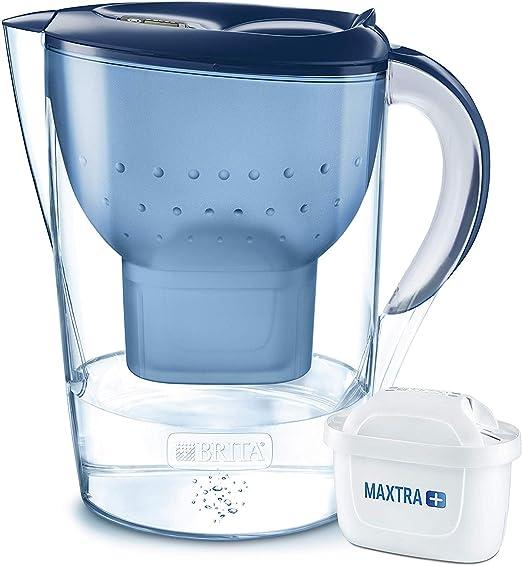 Amazon.com: Brita Blau Marella XL Water Filter Jug Maxtra Size ...