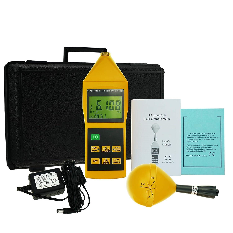 Medidor de fuerza de campo ZRF de 10 MHz a 8 GHz con alarma ...