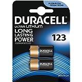 Duracell dur0203203V Lithium Ion (Li-ion) Rechargeable Battery–Lithium Ion (Li-ion) Rechargeable Batteries, 3Volt, black)