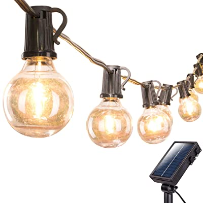 Brightown Solar Outdoor String Lights