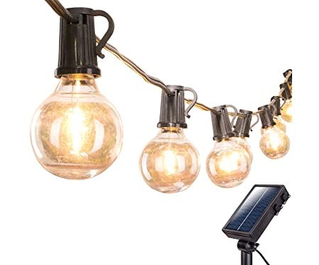 Brightown Solar Outdoor String Lights