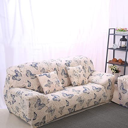 Prime Lamberia Printed Sofa Cover Stretch Couch Cover Sofa Slipcovers For Couches And Loveseats With One Pillow Case Butterfly Loveseat Andrewgaddart Wooden Chair Designs For Living Room Andrewgaddartcom