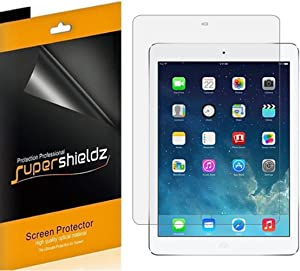 (4 Pack) Supershieldz for Apple iPad Air 2 Screen Protector, High Definition Clear Shield (PET)