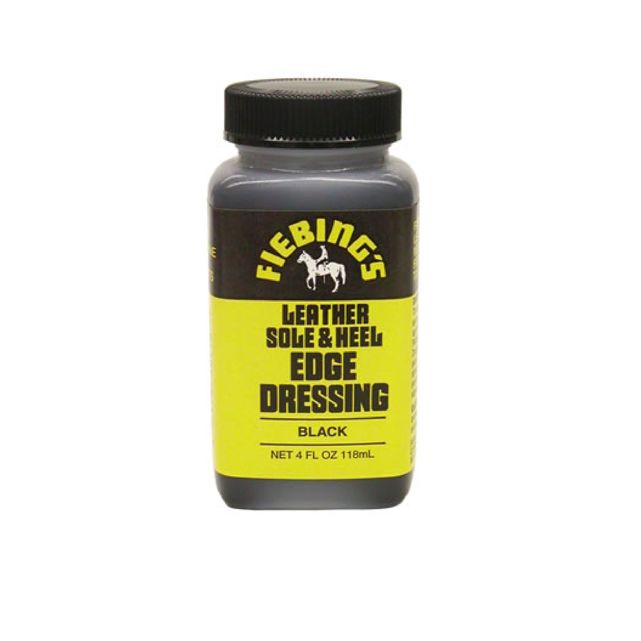 Leather Sole & Heel Edge Dressing (Black or Brown)