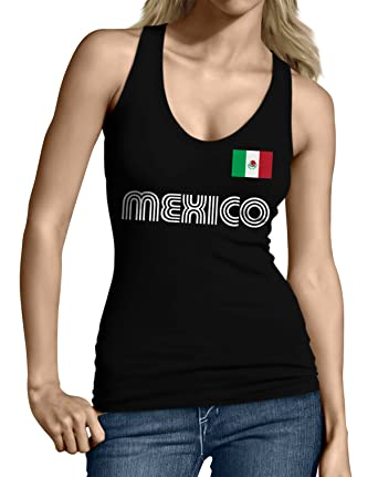 8bcc7721e SpiritForged Apparel Mexico Soccer Jersey Junior s Tank Top at Amazon Women s  Clothing store