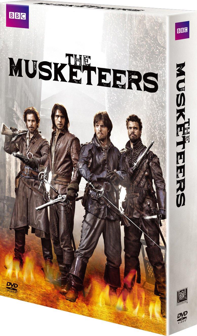 マスケティアーズ パリの四銃士 DVDコレクターズBOX B01N3UQZ1F