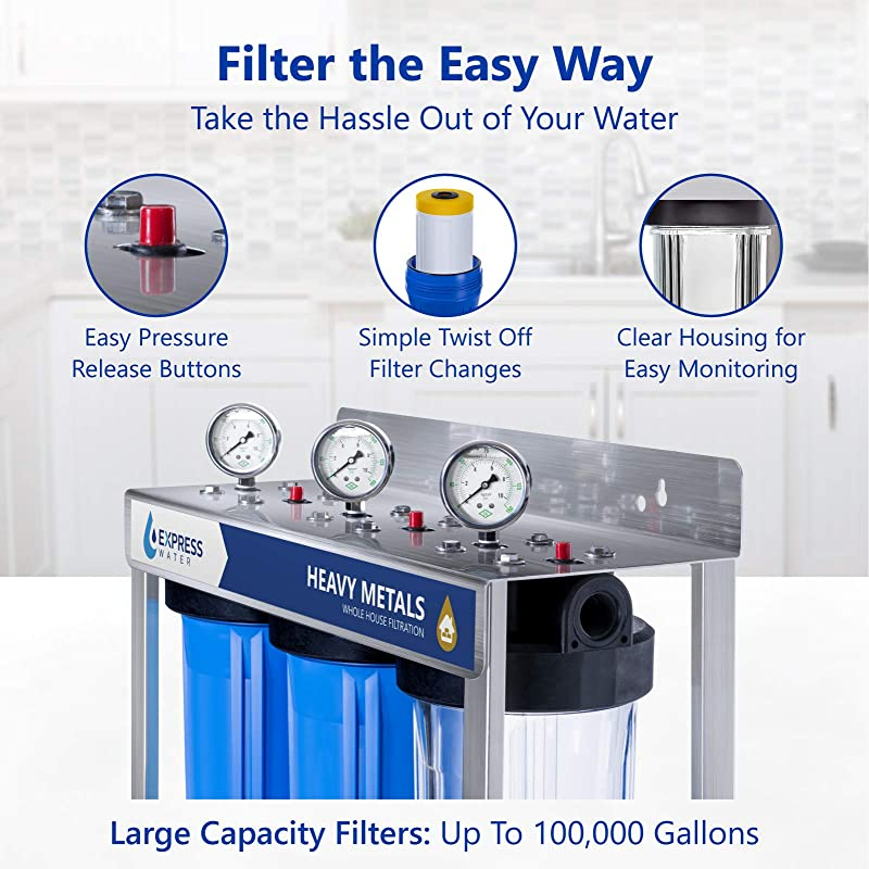 Express Water WH300SCKS Water Filter easy to operate