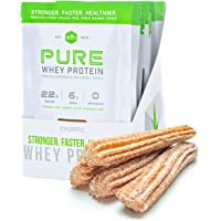 Pure Whey Protein Powder (Cinnamon Churro) by SFH | Best Tasting 100% Grass Fed Whey | All Natural | 100% Non-GMO, No…