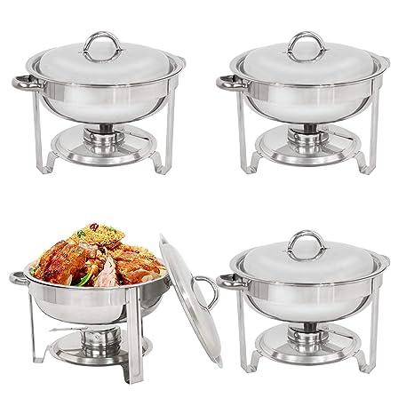 Amazon.com: Oteymart - Juego de platos de cocina de 5 ...