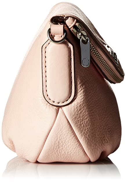 ac9f7a6d4982 Marc Jacobs Marc Women s New Q Mini Natasha Shoulder Bag Pink Pink (Pearl  Blush 175)  Amazon.co.uk  Shoes   Bags