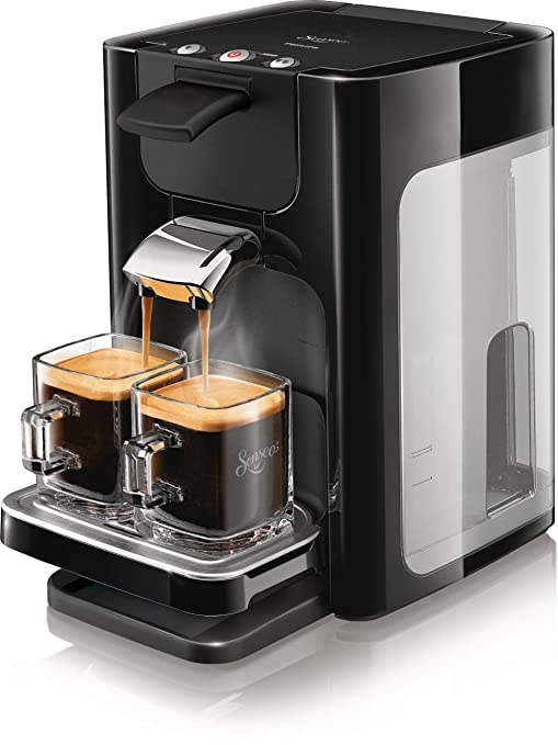 Philips HD7863/60 Senseo Quadrante - Cafetera monodosis, color ...