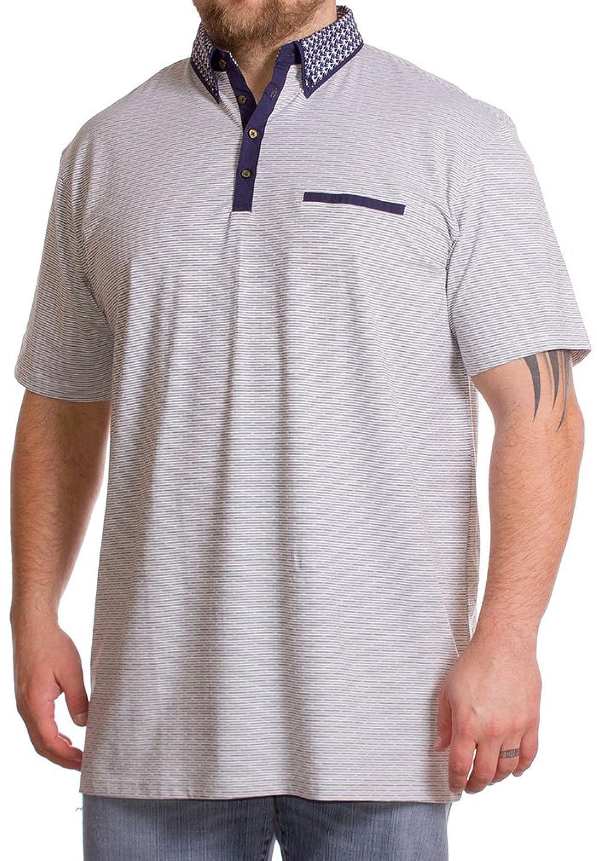 Mish Mash Herren Poloshirt weiß weiß XXX-Large Gr. XXXXL, weiß: Amazon.de:  Bekleidung