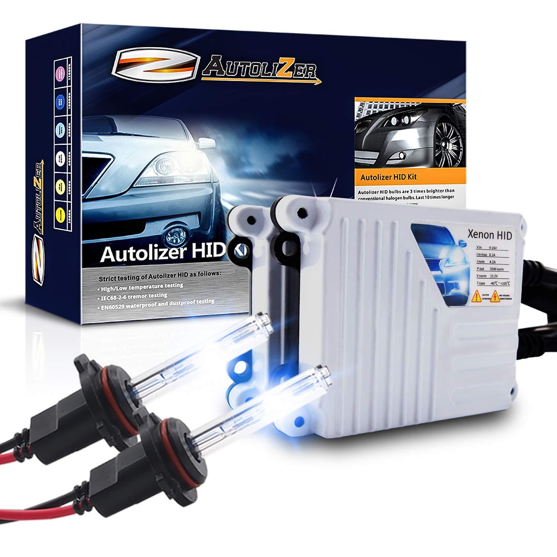 Autolizer 55W Xenon HID Lights H10 9145-10000K Deep Blue