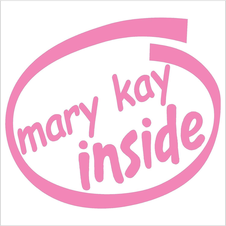 Mary Kay内側ピンクデカール車トラックバンパーウィンドウピンクステッカー B0779M6GLF 4