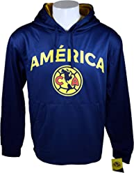 Club America Fleece Jacket Sweatshirt Official Soccer Hoodie 021