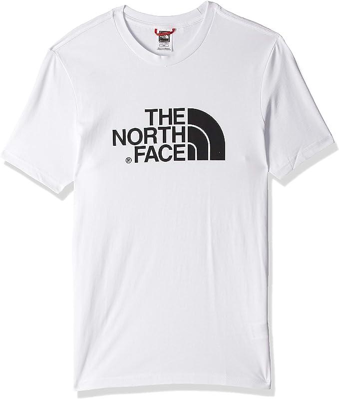 The North Face T92TX3 Camiseta Easy, Hombre, Blanco (Tnf White), S
