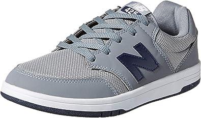 Amazon.com | New Balance mens All Coasts 425 V1 Sneaker, Grey/Navy ...