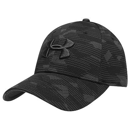 Under Armour Cap Print Blitzing Mens Baseball Hat Headwear Sporting Goods