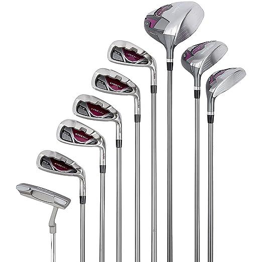 Wilson, Set completo para principiantes, 9 palos de golf de ...