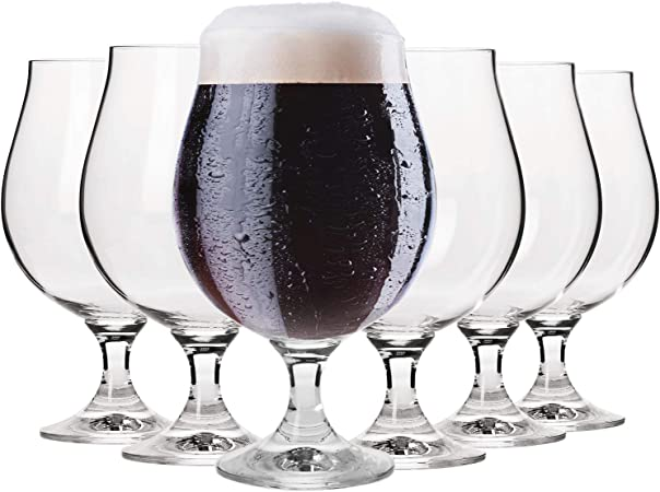 Krosno Pure Weizengläser Biergläser Pilsgläser TrinkgläserSet von 6530 ML