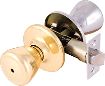 Legend 809143 Tulip Style Door Knob Privacy Bed and Bath Lockset