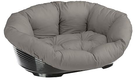 Feplast 70228099 Cama de Plástico para Perros y Gatos con Revestimiento Acolchado Sofa 8,