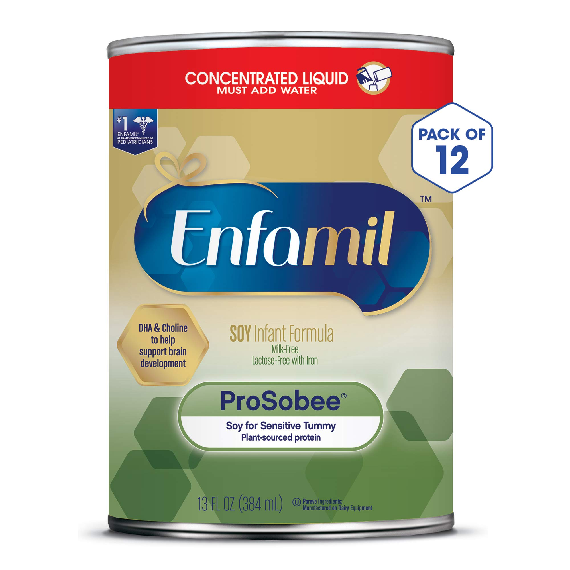 Amazon.com: Enfamil ProSobee Soy-Based Infant Formula ...