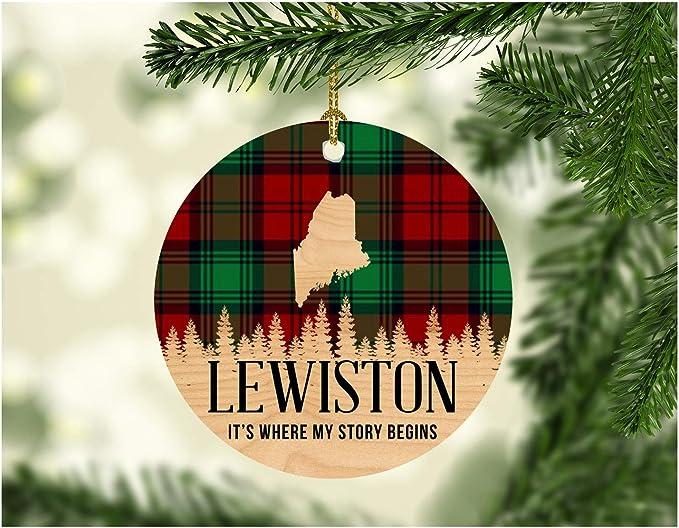 Christmas Lights Lewiston, Me 2020 Amazon.com: Christmas Decorations Ornaments 2020 Lewiston Maine